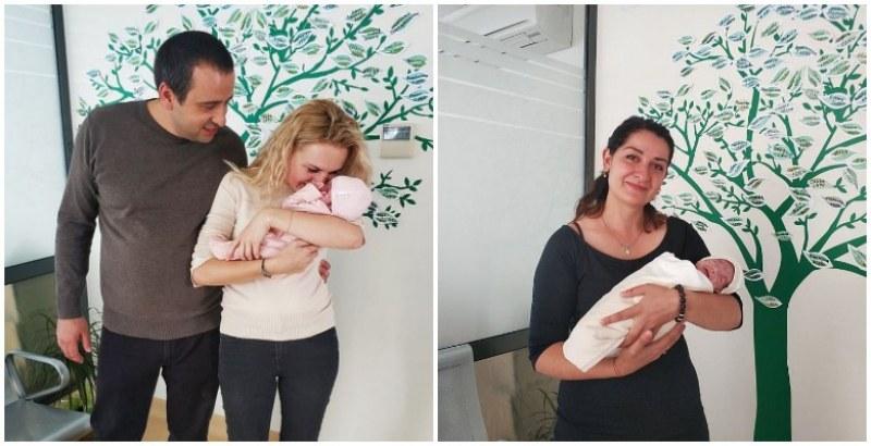 Жажда за живот: Преждевременно родените Димитър и Дара са вече в прегръдките на родителите си