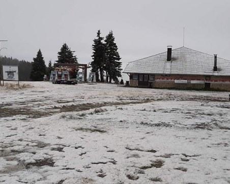 Първи сняг падна в Пампорово
