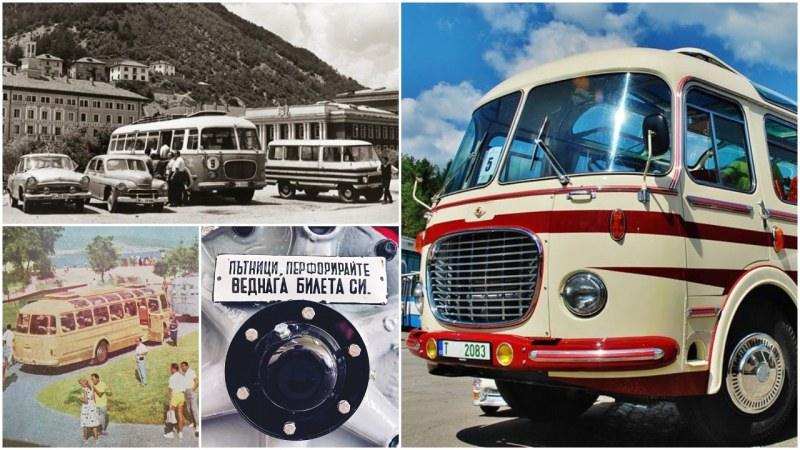 Бижуто на I-вия събор на ретро автобуси - Skoda 706RTO, спрян от движение преди 20 години