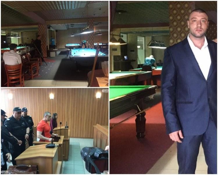 Собственик на пловдивско заведение, обвинен за убийство, жали глоби от по 5 бона от ареста