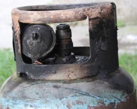 Взрив на газова бутилка в Благоевград, трима пострадаха