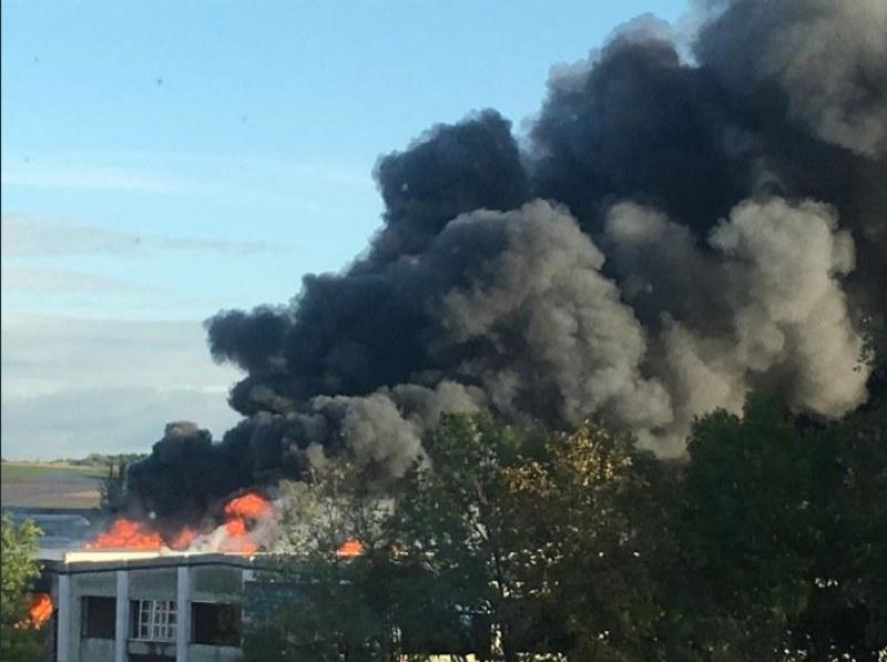 Eксплозия до летището в Линц, има пострадали
