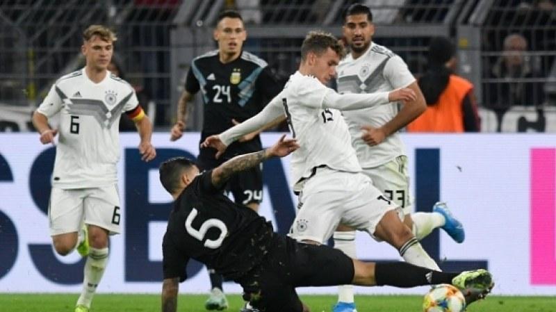Германия и Аржентина сътвориха зрелищно реми
