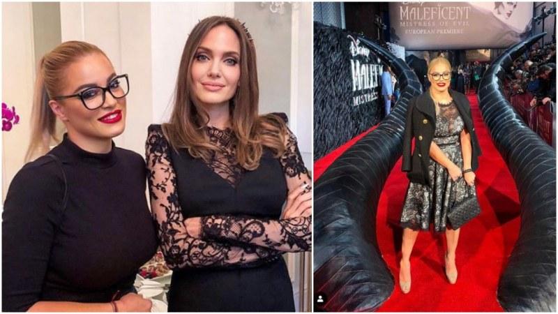 Мечта в реалност! Евгения Джаферович се щракна с Анджелина Джоли