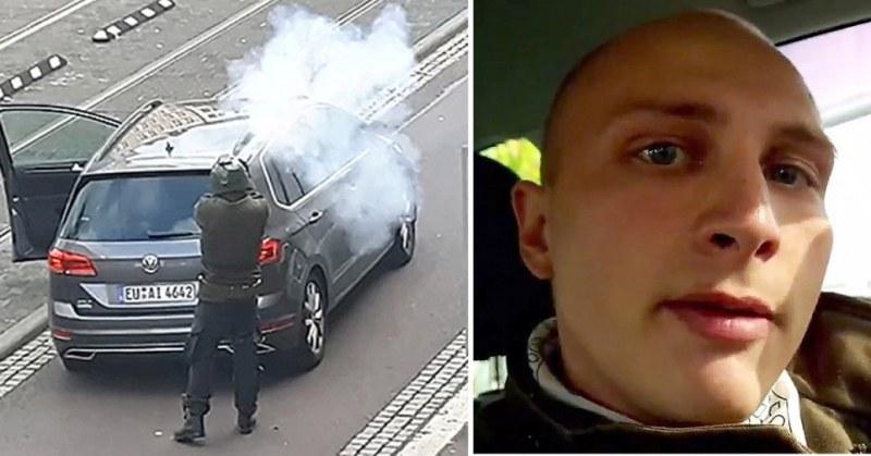 Нападателят в Хале: 27-годишен германец, предавал на живо нападението