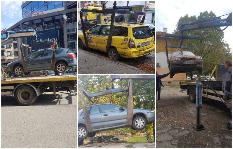Репатрират излезли от употреба коли на територията на