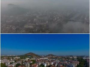 Пловдивчани могат да дишат по-чист въздух! Да се спре отоплението с твърдо гориво е невъзможно, но може да се контролират източниците му!