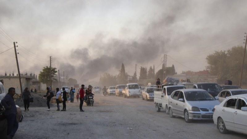 Турската армия удари кюрдите в Сирия по земя и въздух,  САЩ и ЕС заплашиха Ердоган
