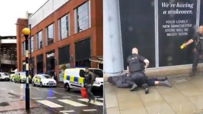 Нападение с нож в Манчестър, четирима са ранени