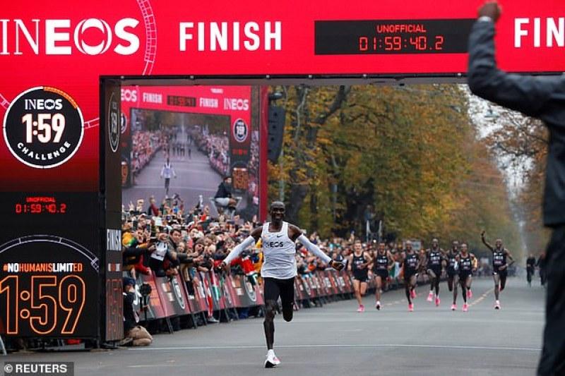 Шампион в маратона с постижение за историята