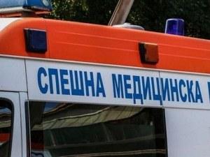 Камион със зърно се запали край Исперих