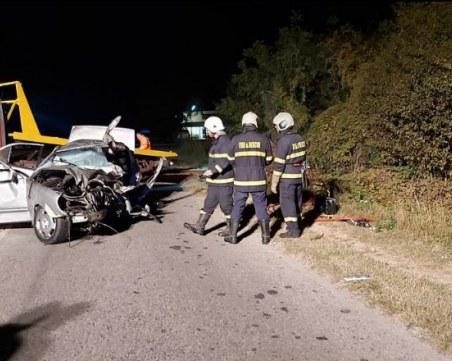 Шестима души загинаха при меле на пътя край Казанлък