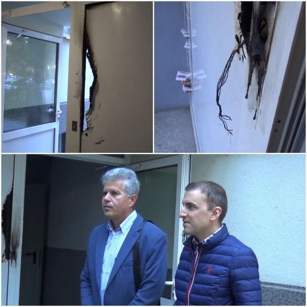 Бандата, която пали врати в Пловдив, вилня отново!