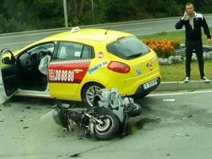 Мотопедист загина при катастрофа с кола във Варна