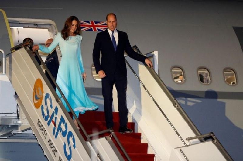 По стъпките на Даяна: Уилям и Кейт в Пакистан