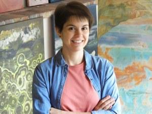 След 12 години във Франция: Кристина Шишкова от Пловдив с първа самостоятелна изложба