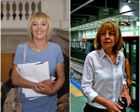 Дебатът за София: Фандъкова и Манолова няма да вдигат данъци, спорят за трафика и строежите