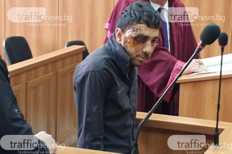 Огнян, който уби двама души в Пловдив: Съжалявам, не исках така да стане