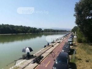 Приготвяйте въдиците! Разрешават риболова на Гребната база в Пловдив