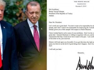 Тръмп с писмо до Ердоган: Не бъди труден. Не бъди глупак! Ще ти звънна