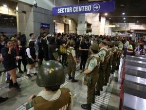 Сблъсъци и извънредно положение в Сантияго след протести