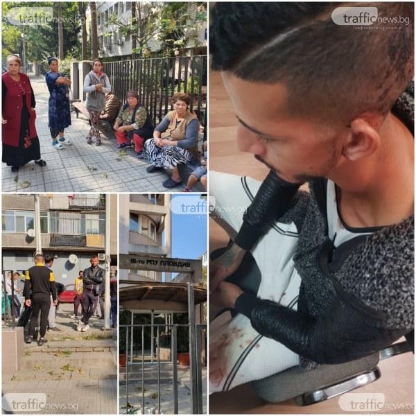 Близки на бития в пловдивско районно: Молехме полицаите да спрат, те се смееха и се заканваха