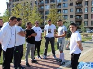 """Димитър Колев се включи в спортен празник в """"Западен"""