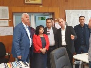 Енергийният министър в Пловдив: Готови сме за зимата, работим в посока оптимизиране на разходите