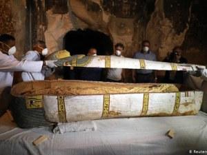 Откриха най-голямата находка на мумии