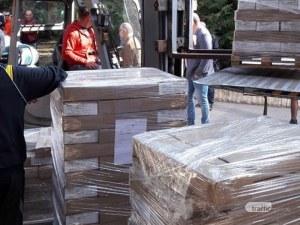 Бюлетините пристигнаха в Пловдив, полицаи ще дежурят пред Областната управа
