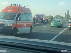 Трима са пострадали при двете катастрофи на Асеновградско, станали през няколко метра
