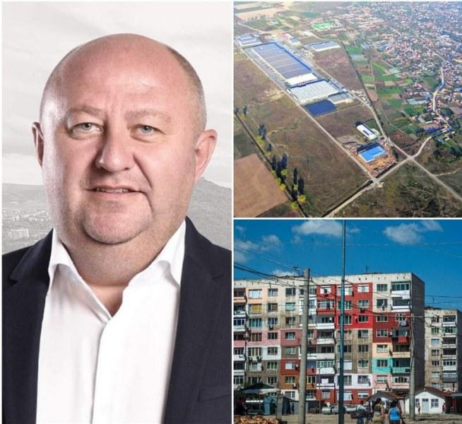 """Преобразяването на район """"Източен"""" започва със сериозни инвестиции и изграждане на нов градски център"""