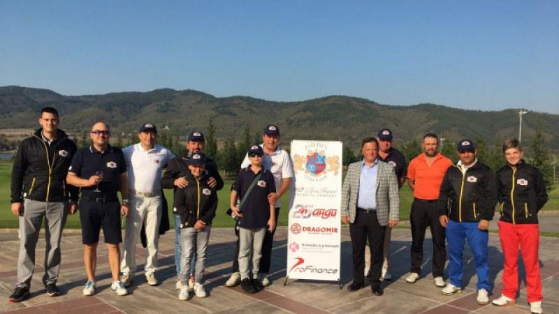 100 състезатели участваха в турнира на Пълдин голф клуб
