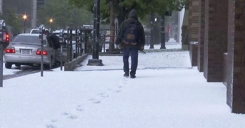 15 см сняг в Колорадо, температурите - минусови