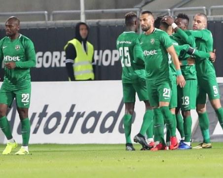 Еспаньол приземи Лудогорец в Лига Европа