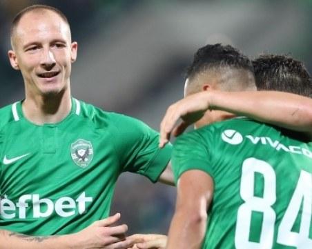 Лудогорец без 4 от звездите си в Лига Европа