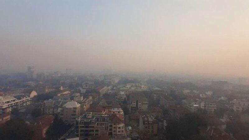Гъст задушлив дим покри Русе