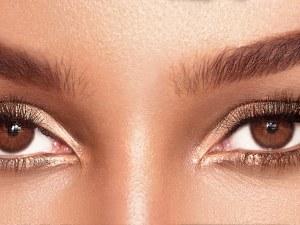 3 лесни грим визии за жени с кафяви очи