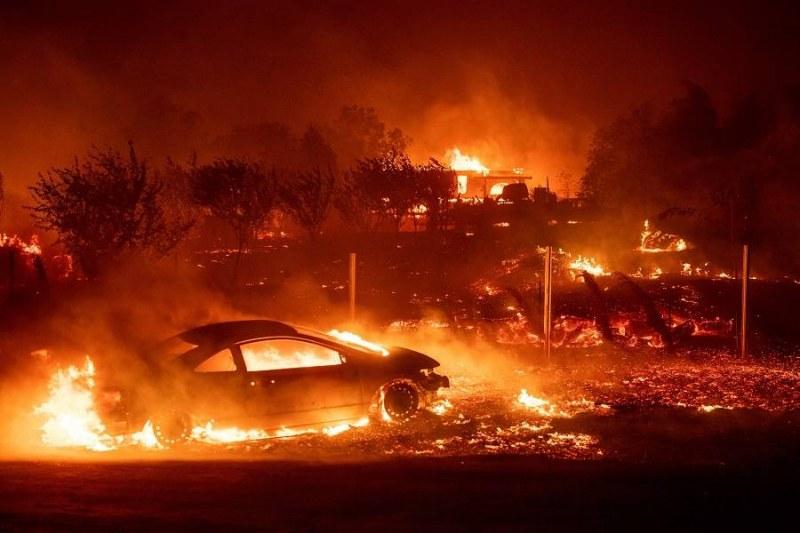Eвакуираха Леброн Джеймс и Арнолд Шварценегер в Калифорния