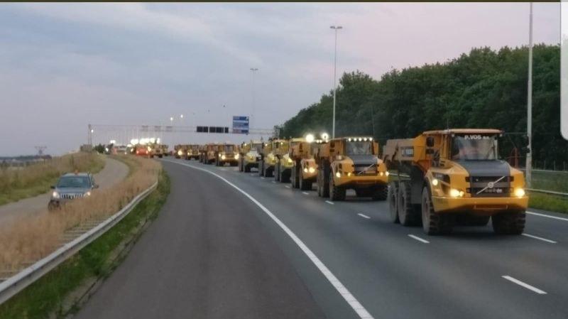380-километрово задръстване в Холандия заради протест