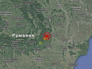 Вранча отново се разтресе – регистрираха две земетресения, едното с магнитуд 3,8 по Рихтер