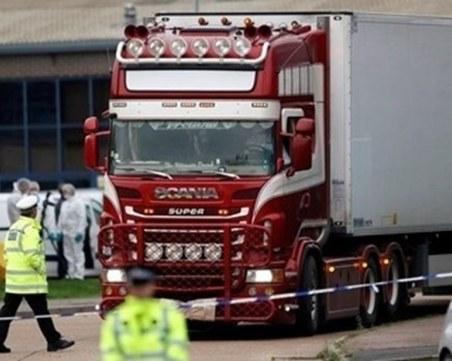Българинът, свързан с камиона ковчег, подозира ирландец за трафика
