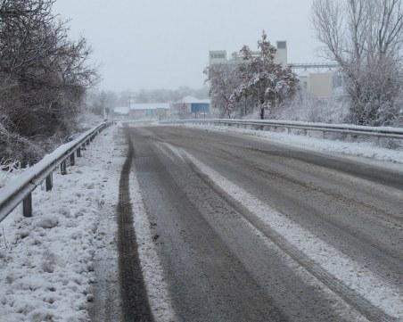 След първия сняг: Каква е пътната обстановка у нас