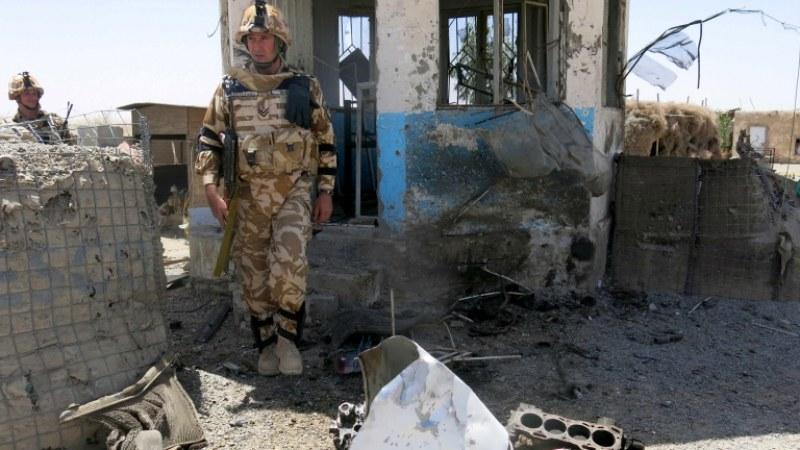 База с български военни е била обстрелвана с ракети
