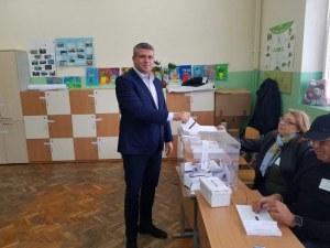 Стоян Алексиев: Гласувах за бъдещето, за надеждата, за децата ни!