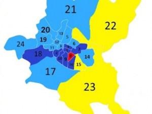 Кои са двете дузини кметове, които ще командват районите в София