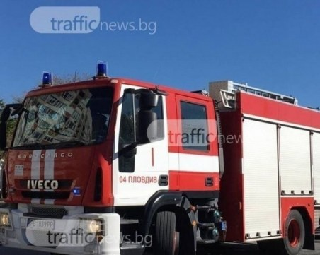 Пожар избухна в общинско общежитие за социално слаби в Димитровград
