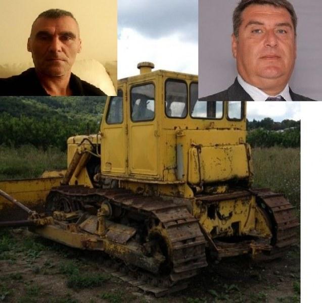 7 години разследват кражба на булдозер от пловдивско село. Обвиняем е ..кметът!
