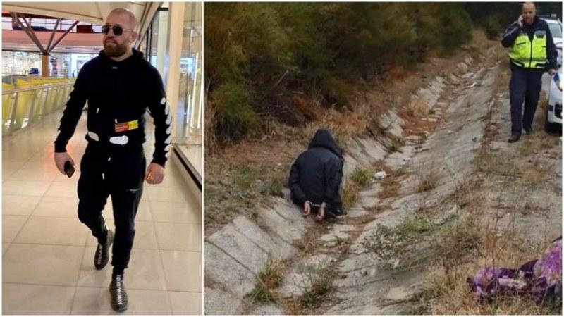 Бежанци налагали Динко с желязо, докато се опитвал да ги залови