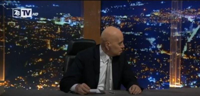 Грабнаха Слави във Фейсбук за 7/8 ТВ,  била като от 87-ма година, шоуто му стана томбола